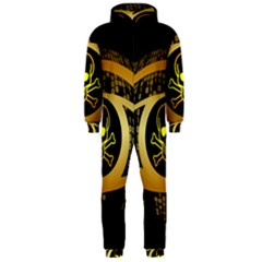 Virus Computer Encryption Trojan Hooded Jumpsuit (Men)