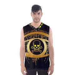 Virus Computer Encryption Trojan Men s Basketball Tank Top