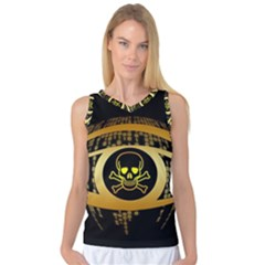 Virus Computer Encryption Trojan Women s Basketball Tank Top