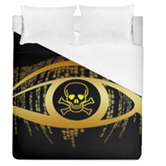 Virus Computer Encryption Trojan Duvet Cover (Queen Size)