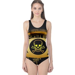 Virus Computer Encryption Trojan One Piece Swimsuit