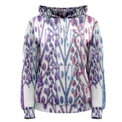 Magical pastel trees Women s Pullover Hoodie