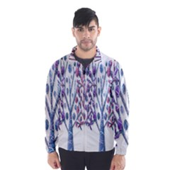 Magical pastel trees Wind Breaker (Men)