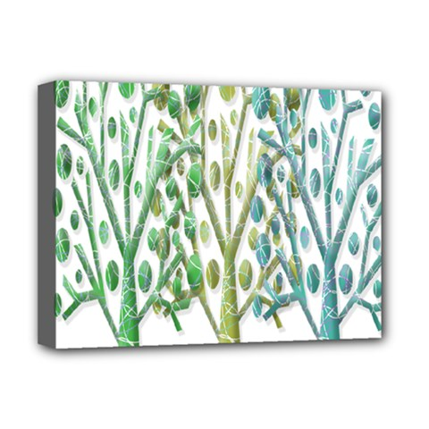 Magical green trees Deluxe Canvas 16  x 12