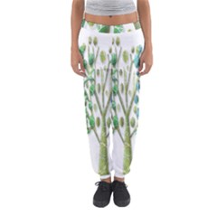 Magical green trees Women s Jogger Sweatpants