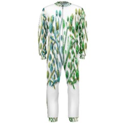 Magical green trees OnePiece Jumpsuit (Men)