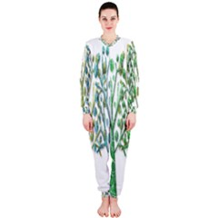 Magical green trees OnePiece Jumpsuit (Ladies)