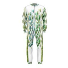 Magical green trees OnePiece Jumpsuit (Kids)