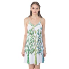 Magical green trees Camis Nightgown