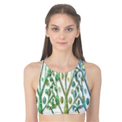 Magical green trees Tank Bikini Top