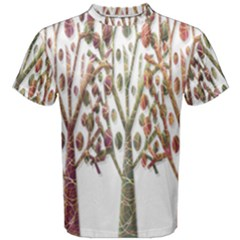 Magical autumn trees Men s Cotton Tee