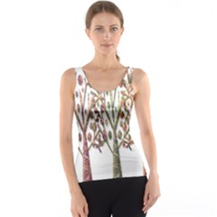 Magical autumn trees Tank Top