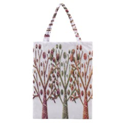 Magical autumn trees Classic Tote Bag