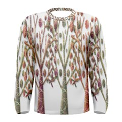 Magical autumn trees Men s Long Sleeve Tee