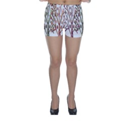 Magical autumn trees Skinny Shorts