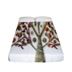 Magical autumn trees Fitted Sheet (Full/ Double Size)