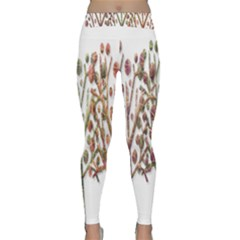 Magical autumn trees Classic Yoga Leggings