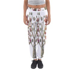 Magical autumn trees Women s Jogger Sweatpants