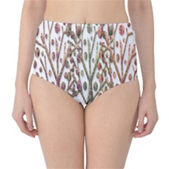 Magical autumn trees High-Waist Bikini Bottoms