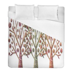 Magical autumn trees Duvet Cover (Full/ Double Size)