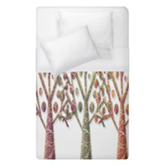 Magical autumn trees Duvet Cover (Single Size)