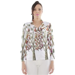 Magical autumn trees Wind Breaker (Women)