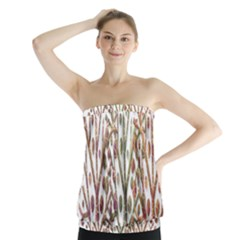 Magical autumn trees Strapless Top