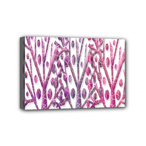 Magical pink trees Mini Canvas 6  x 4