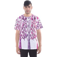 Magical pink trees Men s Sport Mesh Tee