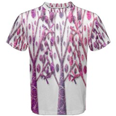 Magical pink trees Men s Cotton Tee