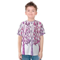 Magical pink trees Kids  Cotton Tee