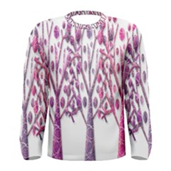 Magical pink trees Men s Long Sleeve Tee