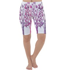 Magical pink trees Cropped Leggings