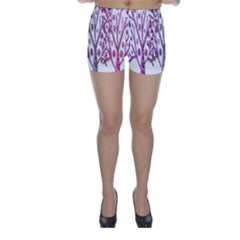 Magical pink trees Skinny Shorts