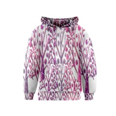 Magical pink trees Kids  Pullover Hoodie