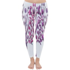 Magical pink trees Classic Winter Leggings