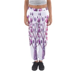 Magical pink trees Women s Jogger Sweatpants