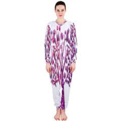Magical pink trees OnePiece Jumpsuit (Ladies)