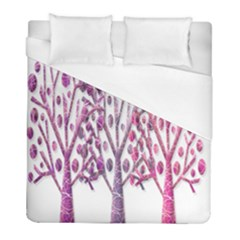 Magical pink trees Duvet Cover (Full/ Double Size)