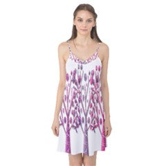 Magical pink trees Camis Nightgown