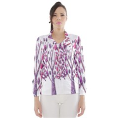 Magical pink trees Wind Breaker (Women)