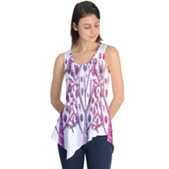Magical pink trees Sleeveless Tunic