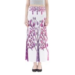 Magical pink trees Maxi Skirts