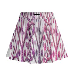 Magical pink trees Mini Flare Skirt
