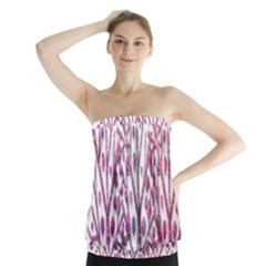Magical pink trees Strapless Top