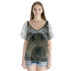 Cairn Terrier Flutter Sleeve Top