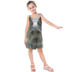 Cairn Terrier Kids  Sleeveless Dress