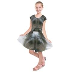 Cairn Terrier Kids  Short Sleeve Dress