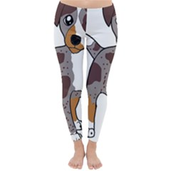 Catahoula Red Cartoon Classic Winter Leggings