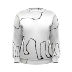 French Bulldog Silo Women s Sweatshirt